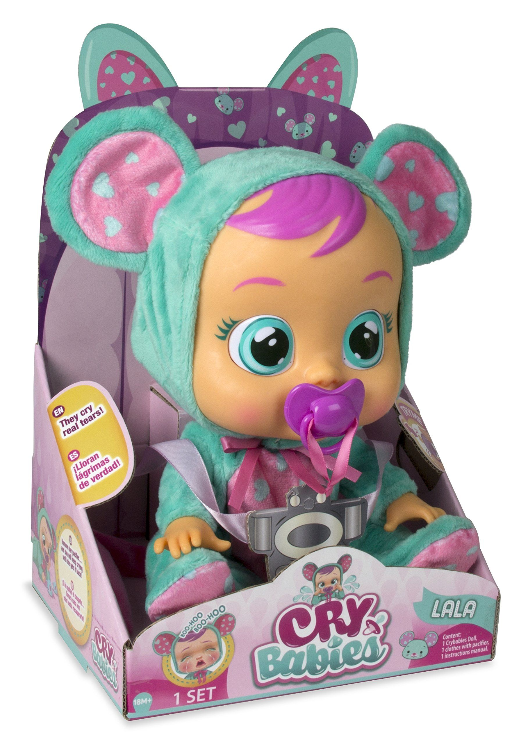 Cry Babies Lala Baby Doll To Find Out More Browse Through Picture Link This Is An Affiliate Link Photooftheday Baby Dolls Baby Alive Dolls Cry Baby