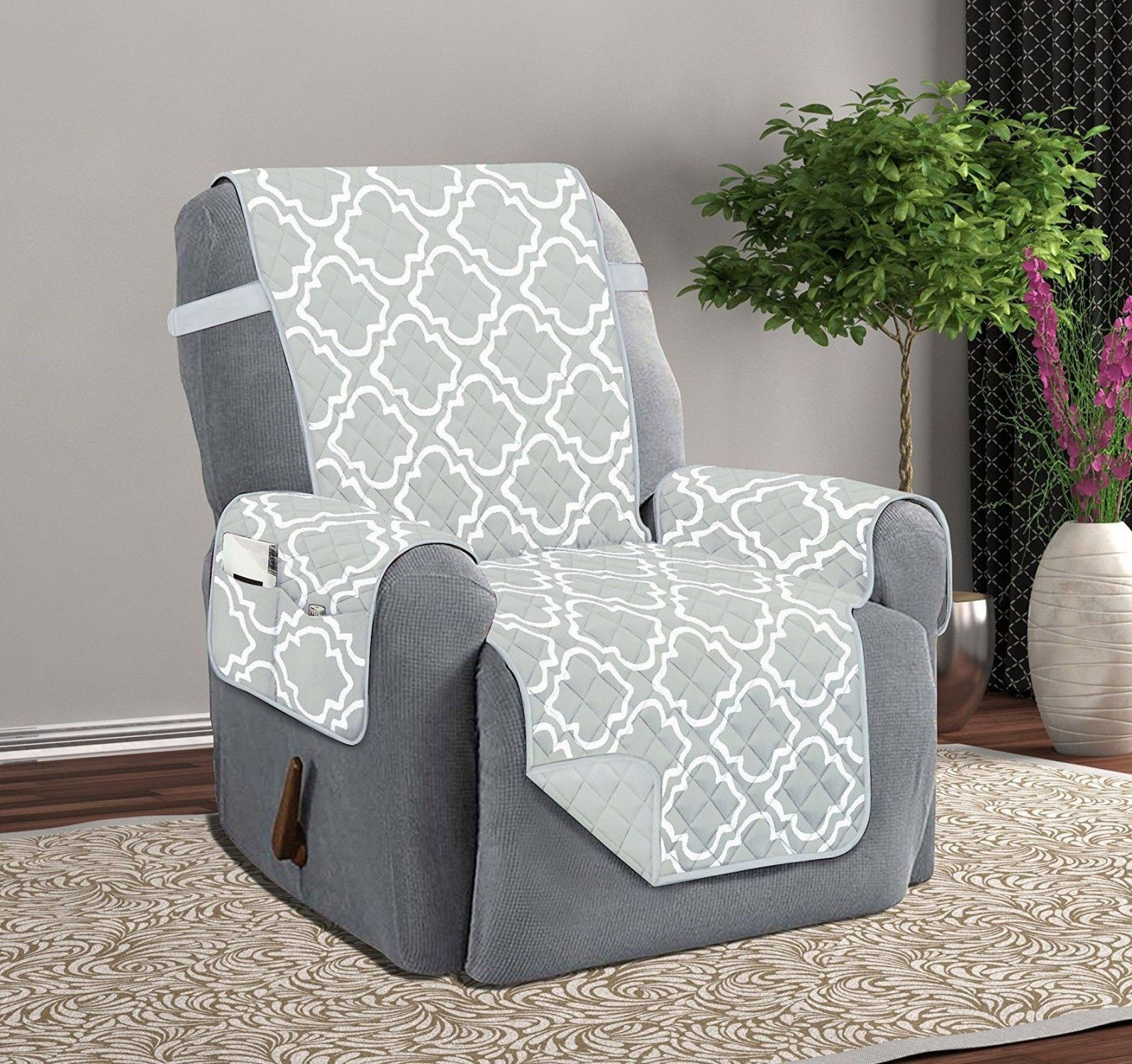 Lazy Boy Recliner Cover Furniture Protector Chair Arm Covers With By George Z Rivera Recliner Cover Lazy Boy Recliner Furniture Protectors