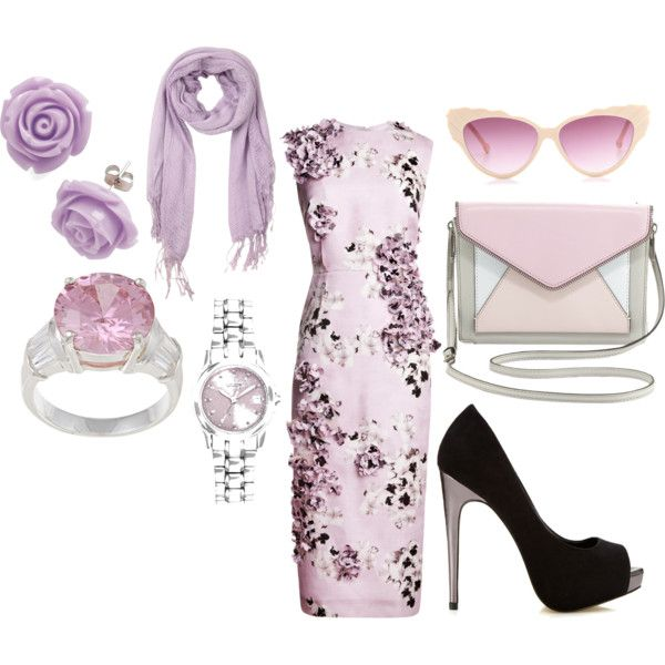 """""""Luscious Lavendar"""" by charlotte-d-piper on Polyvore"""