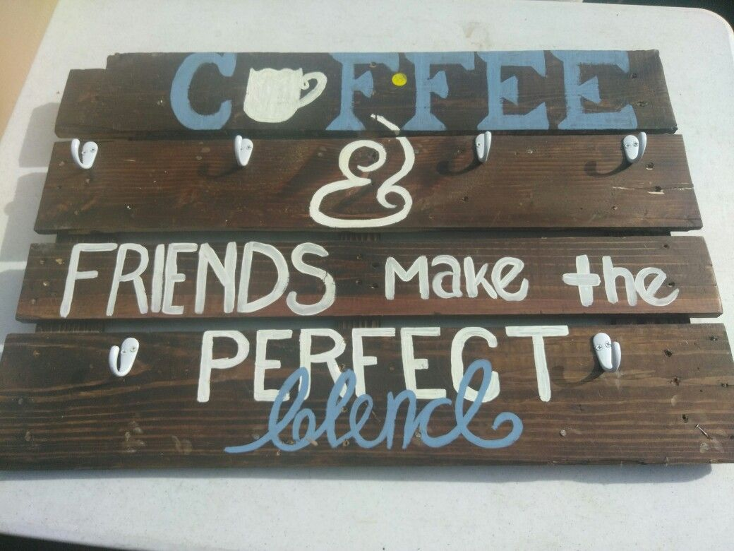 Dit pallet coffee sign (With images)   Coffee signs ...
