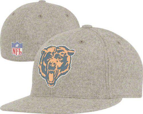 NFL Chicago Bears Classics Flat Visor Flex Hat - Tw93Z Reebok.  27.99 06f3a1aad
