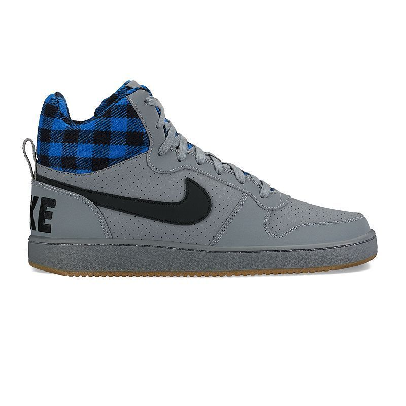 Nike Court Borough Mid Premium Men's Basketball Shoes, Size: 11.5, Oxford