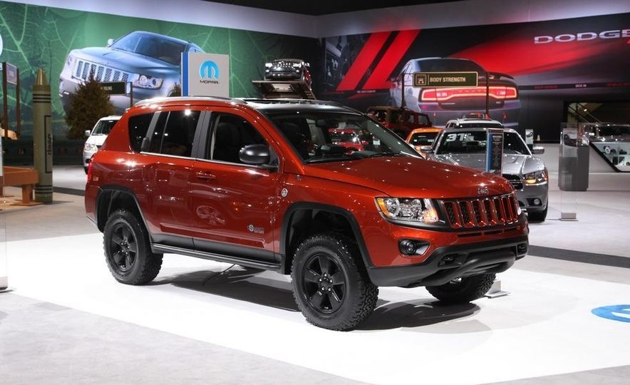 Mopar Jeep Compass True North Concept Almost Looks Ready To Go Off
