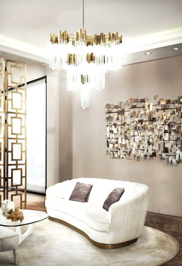 Kronleuchter modern luxuri ses wohnzimmer wei es sofa - Wohnzimmer kronleuchter ...