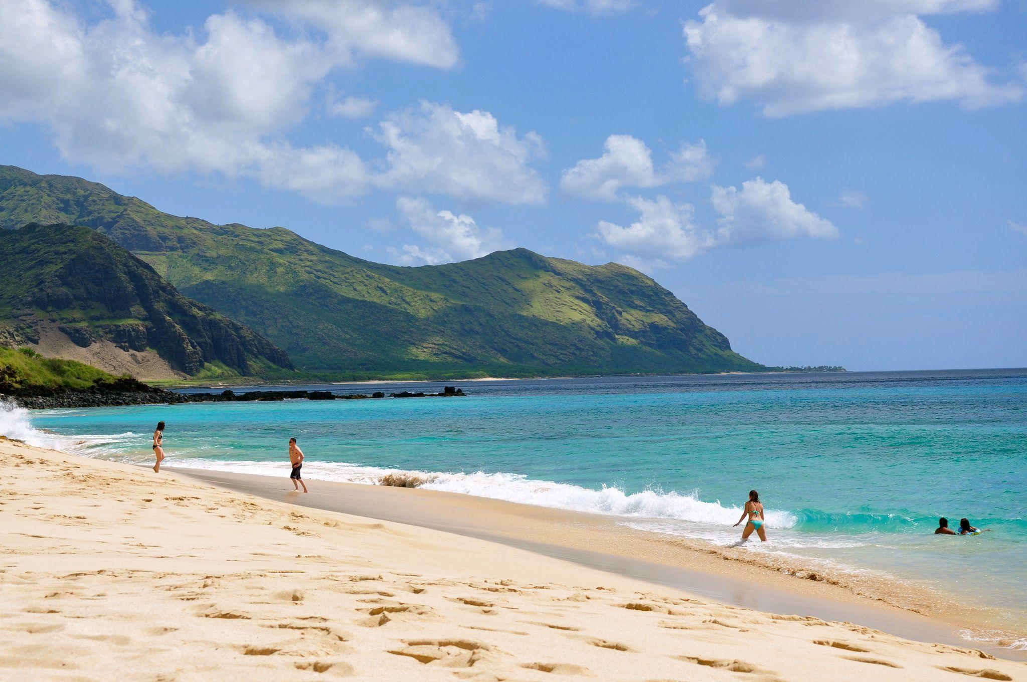 Makua Beach Oahu I Ve Heard This Is