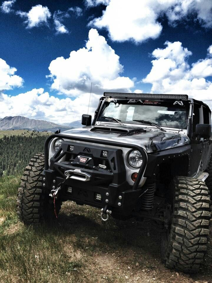 Beautiful Shot Of This Jeep Wrangler Doing What It Does Best