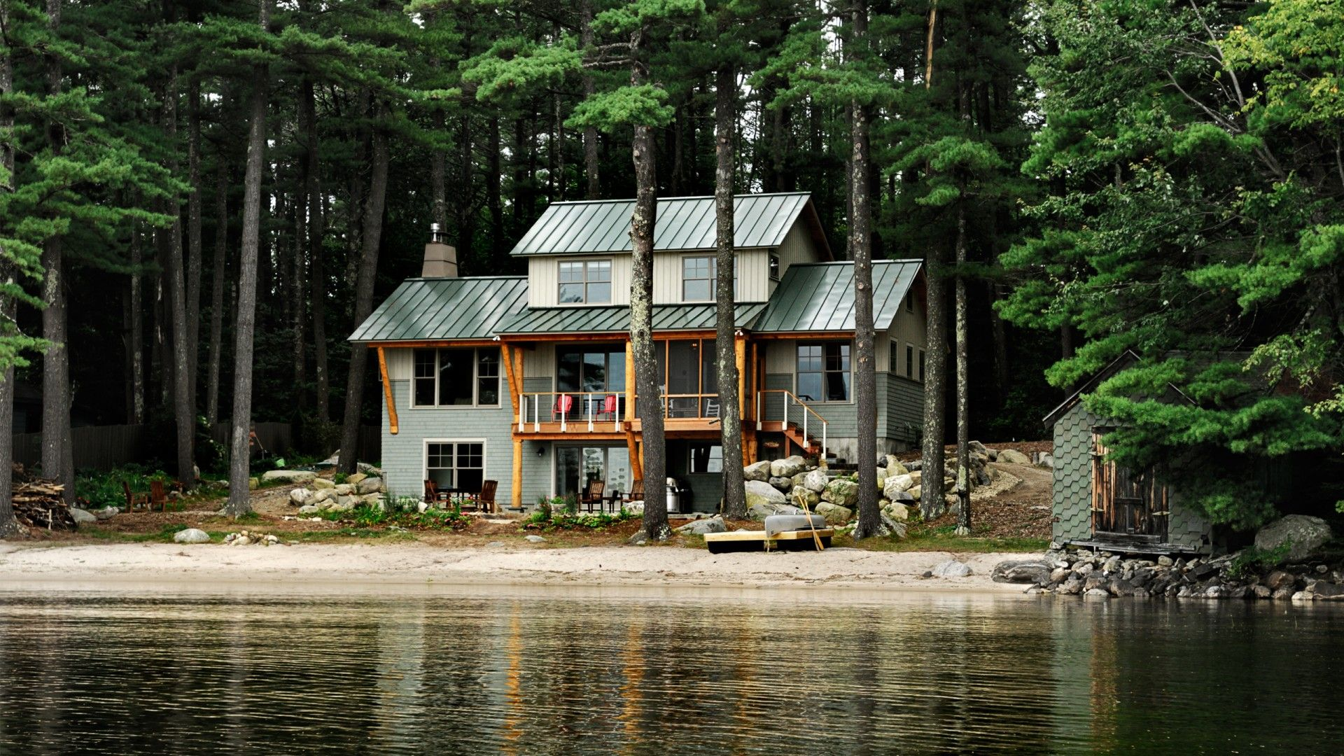 Love This Lake House Built By Whitten Architects Sebago Lake