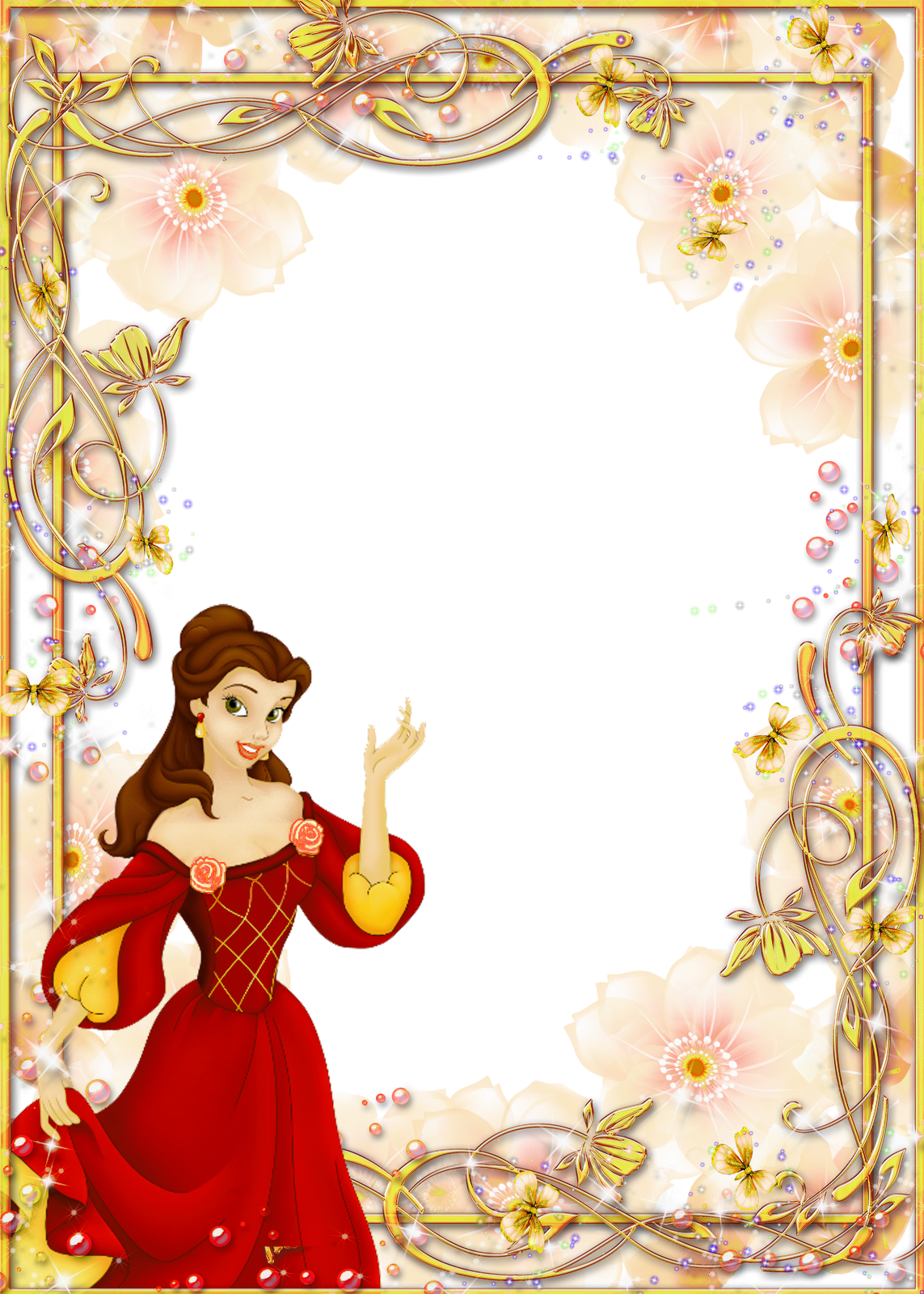 Princess Kids PNG Transparent Photo Frame | pricesas ...