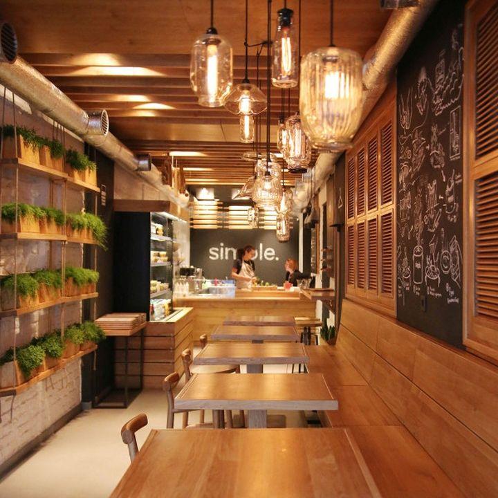 Simple fast food restaurant by brandon agency kiev