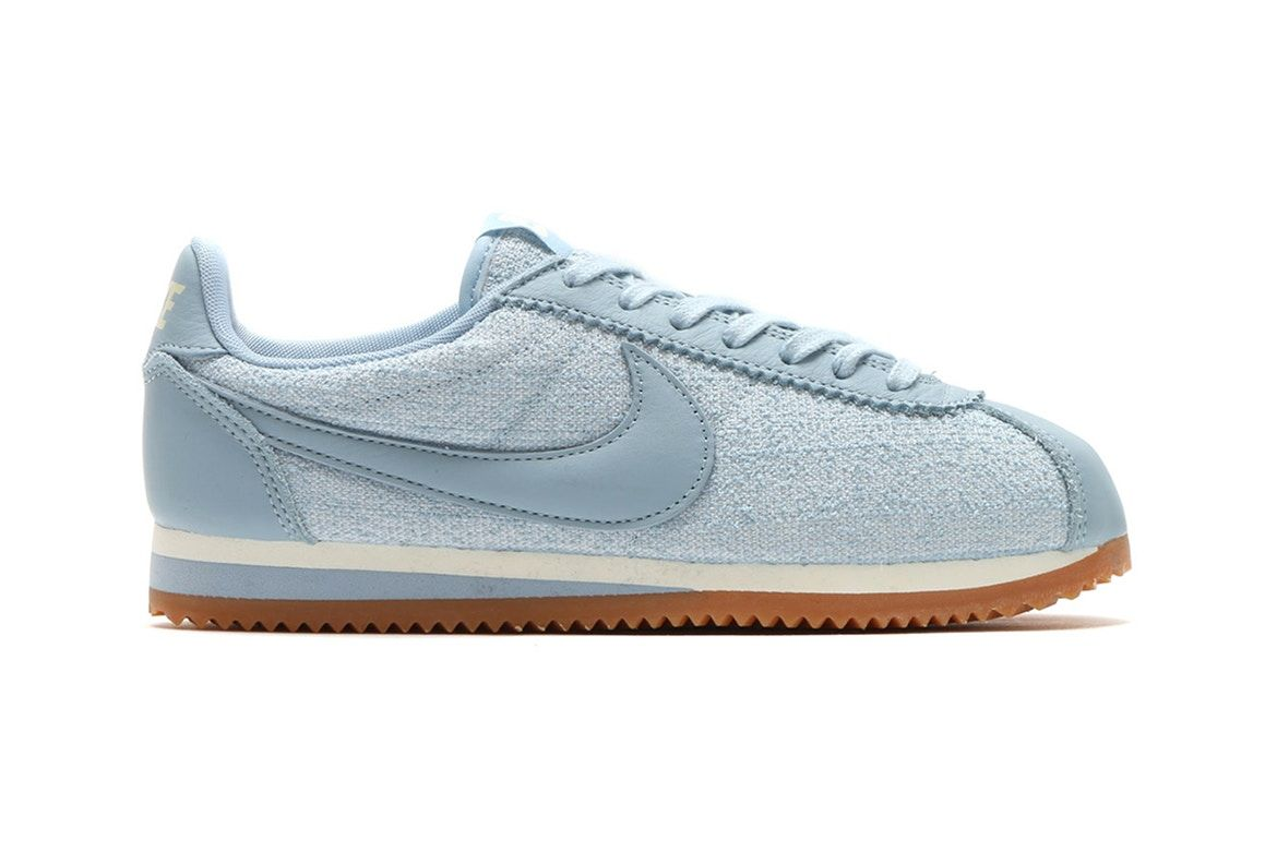Match Your Light Wash Jeans with the Nike Classic Cortez