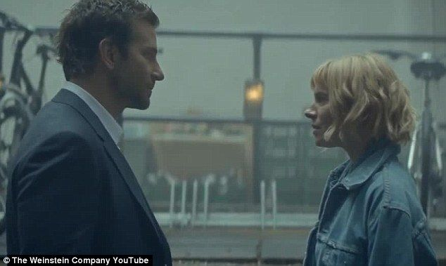 Reunited: Bradley Cooper and Sienna Miller have joined forces once again in the trailer fo...