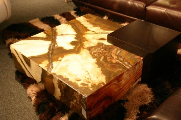 Onyx coffee table Onyx table Pinterest Coffee Center table