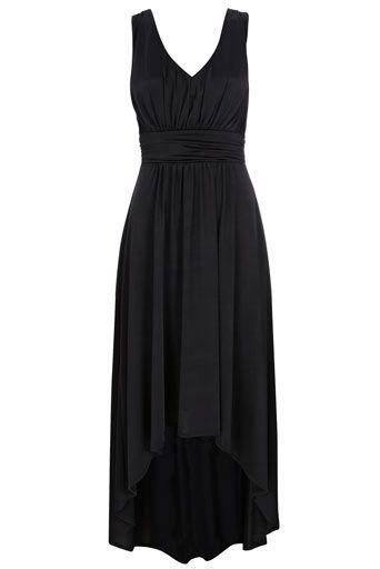 Wallis Us Black Grecian High Low Maxi Dress Style Loves Dresses
