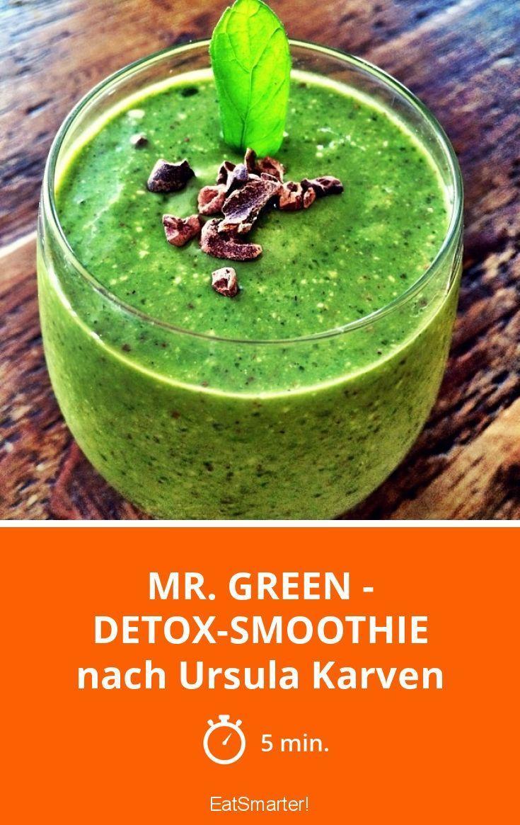Mr. Green - Detox-Smoothie  - Detox-Rezepte -