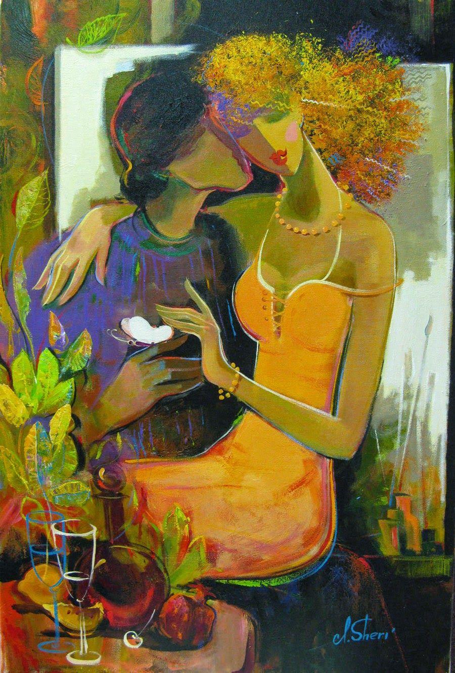 Irene Sheri... | Kai Fine Art | The Lovers | Pinterest ...