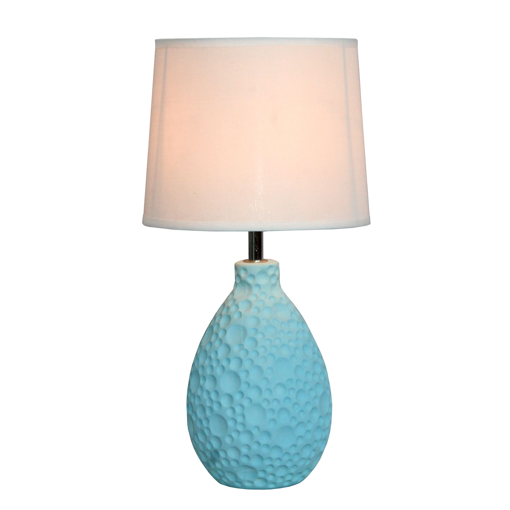 Magnificent Simple Designs Texturized Stucco Ceramic Oval Table Lamp Interior Design Ideas Grebswwsoteloinfo