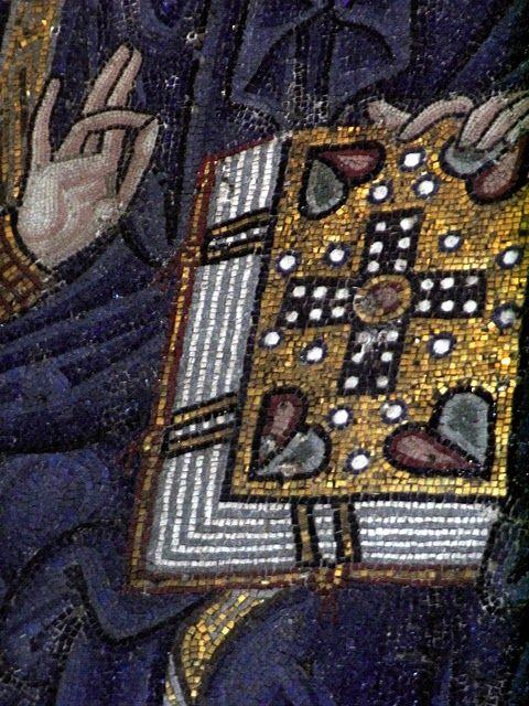 Mosaic Detail In The Hagia Sophia Mosaicos Bizantinos Mosaicos Arte Bizantino