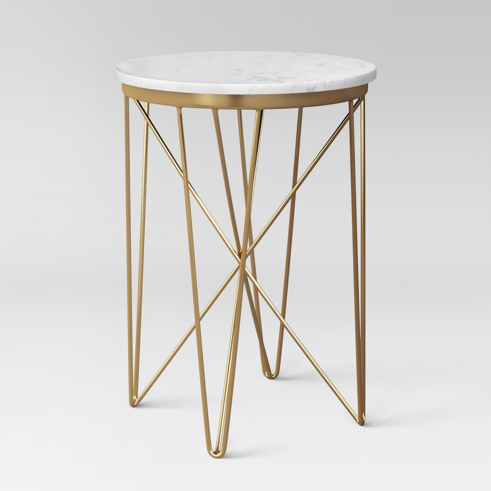 Marble Top Round Table Gold Project 62 In 2021 Marble End Tables Marble Accent Table Holiday Living Room [ 2000 x 2000 Pixel ]