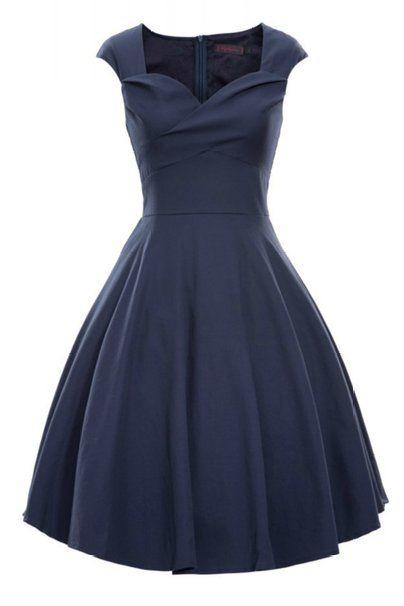 Luouse Vintage 1950\'s Audrey Hepburn robe de soirée cocktail, bal ...
