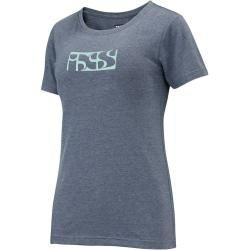 Ixs Brand Tee Damen T-Shirt Blau 40 Ixs #stylishmen