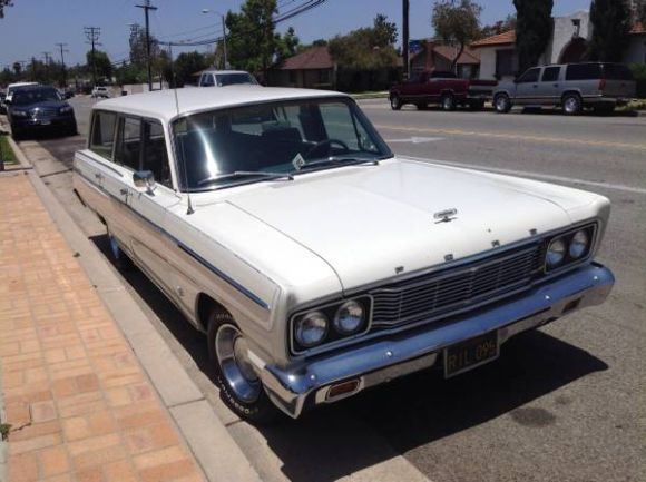Owned 44 Years 1965 Ford Fairlane 500 Wagon