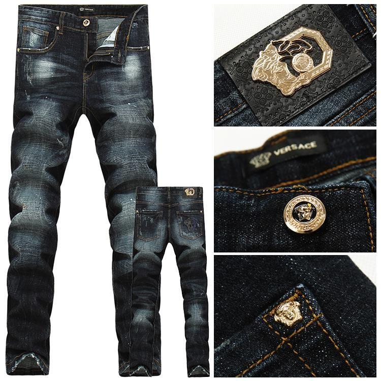 Günstig Kaufen Ausgezeichnet Großhandelspreis Günstiger Preis DENIM - Jeanshosen Versace Günstig Kaufen Bilder Grenze Angebot Billig Original lOjz9