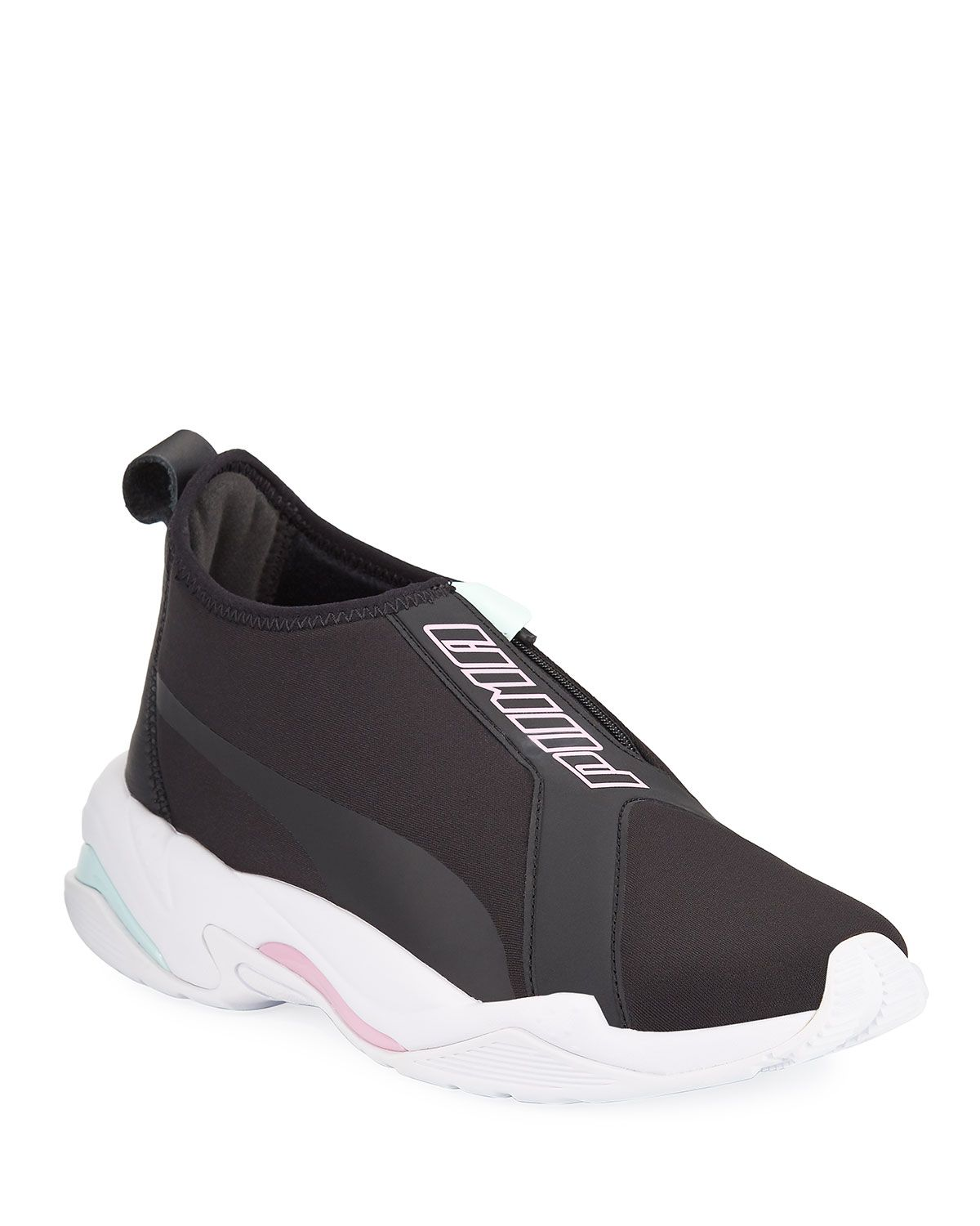 PUMA THUNDER LACELESS TRAINER SNEAKERS