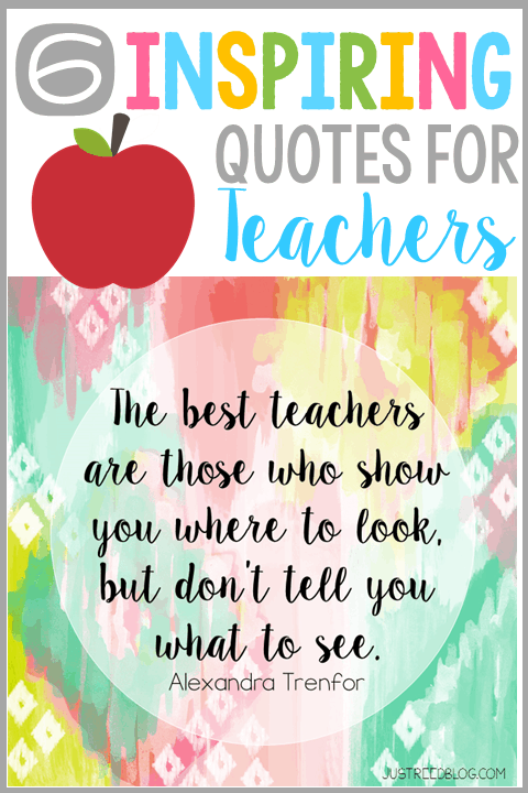 6 Quotes to Inspire and Empower Teachers to Make a Difference  Just Reed  Play