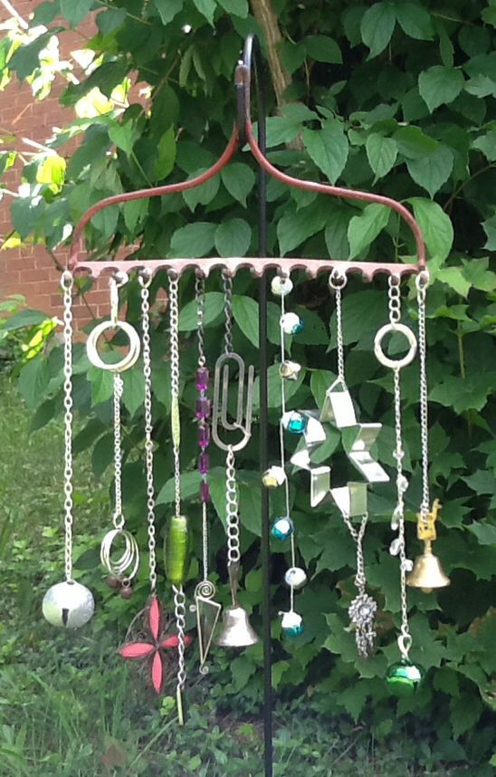 Made This With Funky Items I Found At Yard S