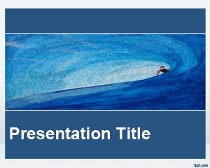 ocean powerpoint templates is a free blue template for presentations