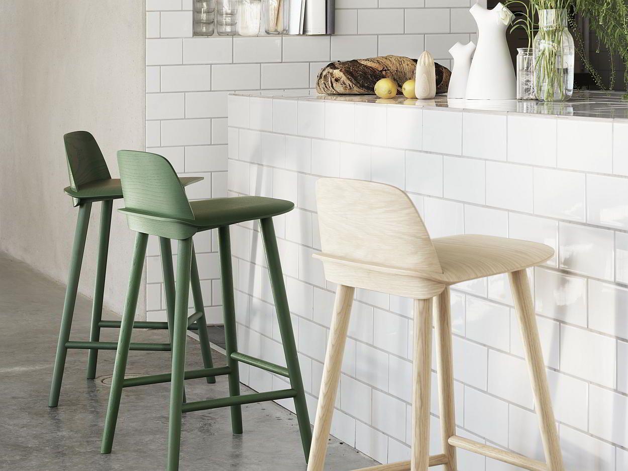 Houten barkrukken design interiors cook cook