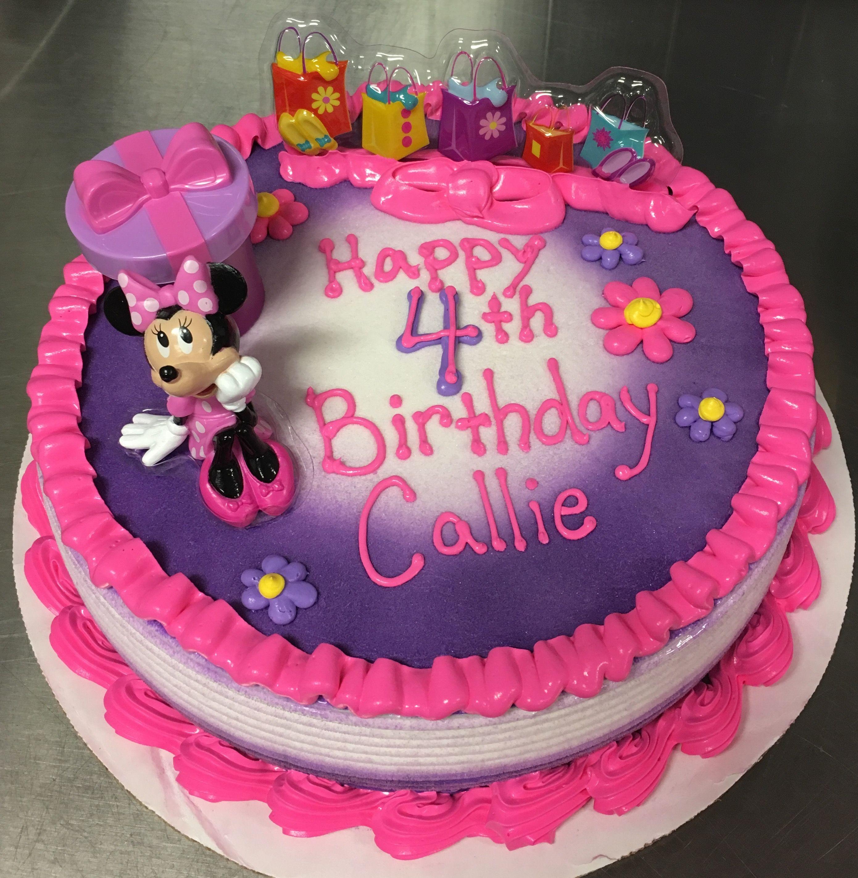 minnie mouse dq ice cream cake my cakes pinterest cake minnie