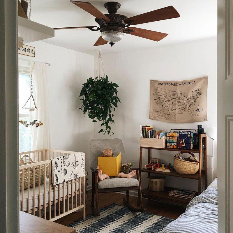 Boho Baby Nursery Room Inspiration by