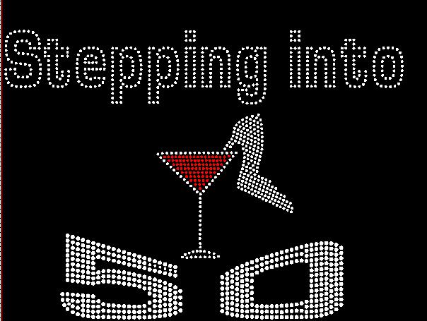 Bling Everythingllc Rhinestone Tshirts 50th Birthday Party Shirts