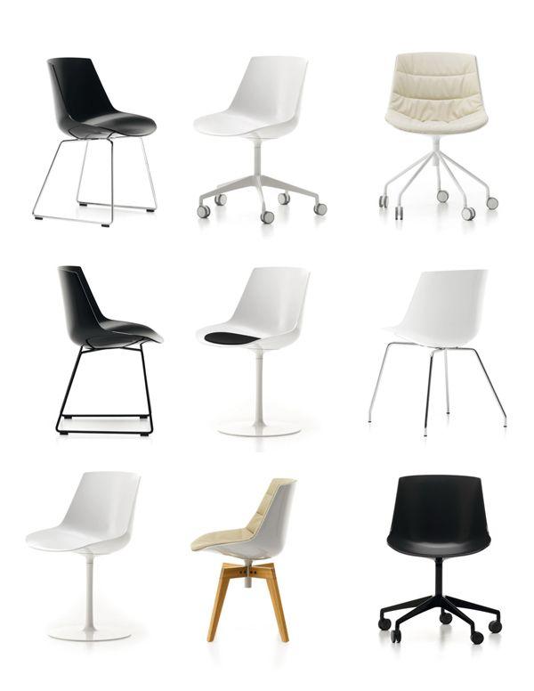 de MDF Italia Design JMMassaud #furniture  Sillas  muebles de