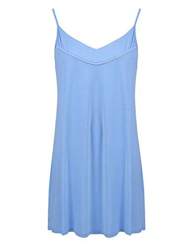 89373a006a IN VOLAND Plus Size Full Slips Under Dresses Women Nightgown Chemise Simple  Sleepwear