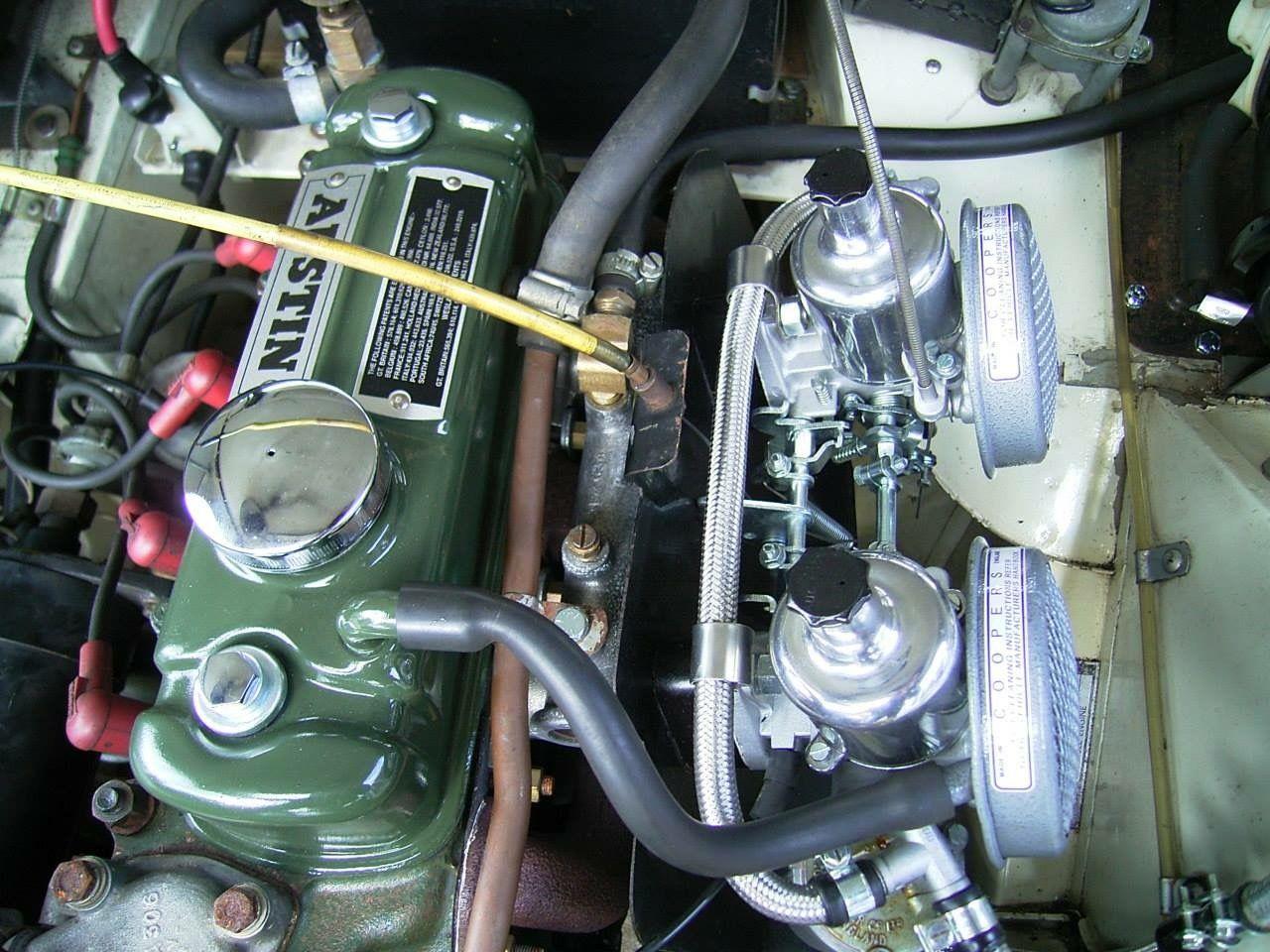 Sprite Motor Classic Racing Cars Austin Healey Sprite British Cars