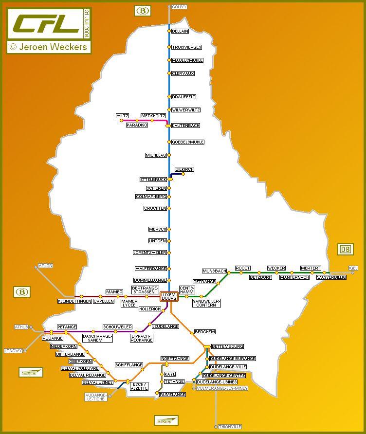 Spoorwegen Luxemburg Afbeeldingen Google Luxemburg