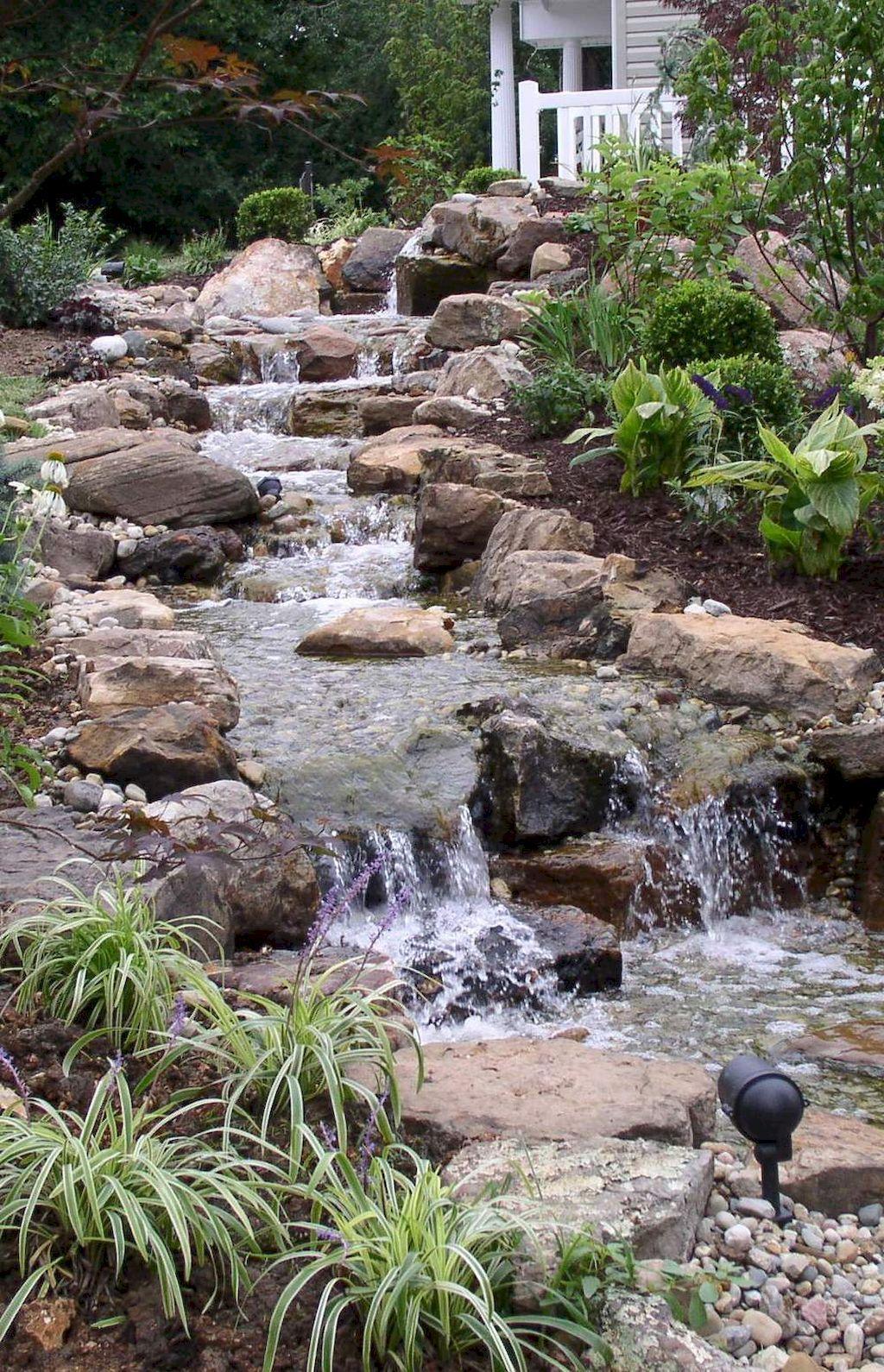 99 graceful backyard waterfall ideas on a budget backyard and