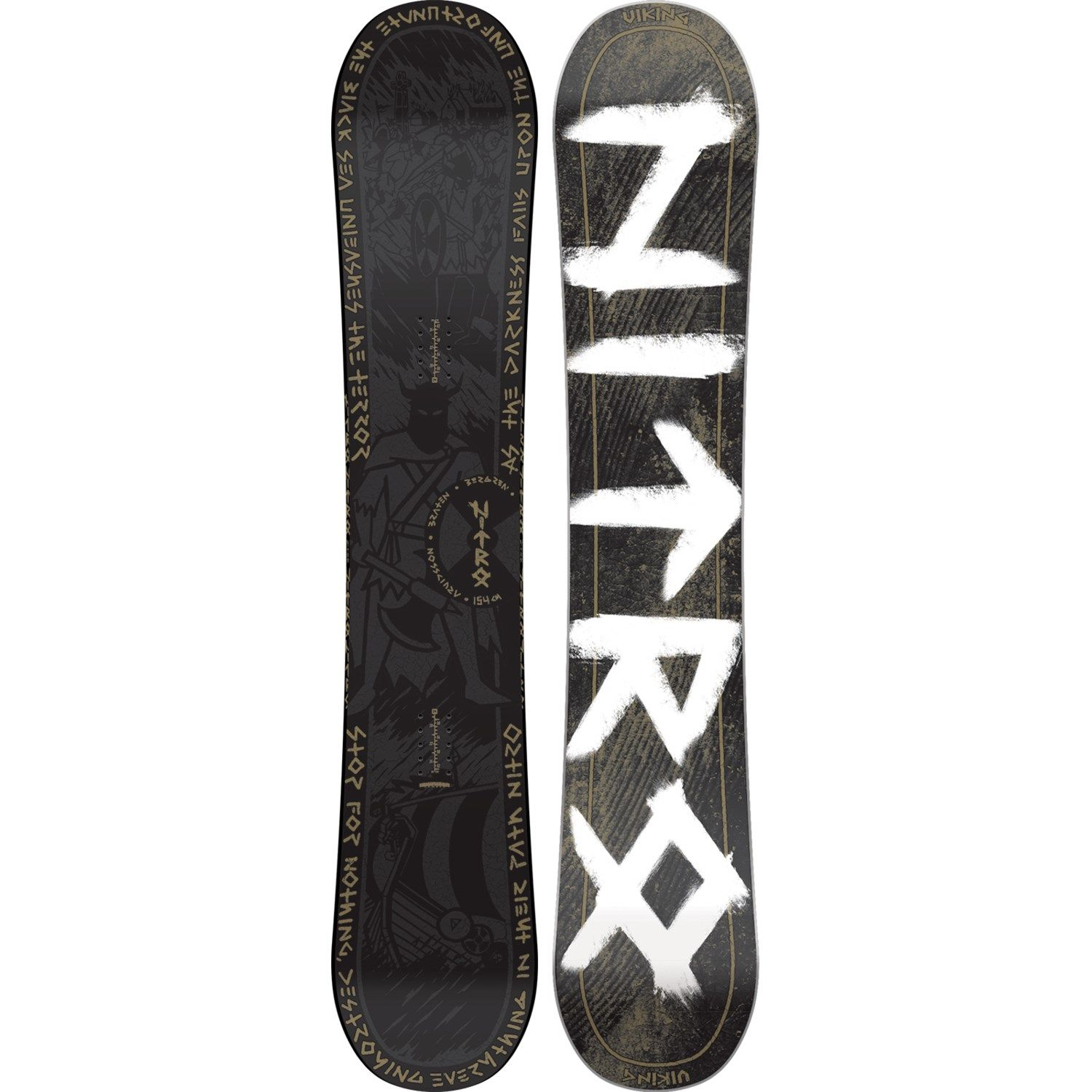 0a2b539890ae Nitro Viking One-Off Snowboard 2016