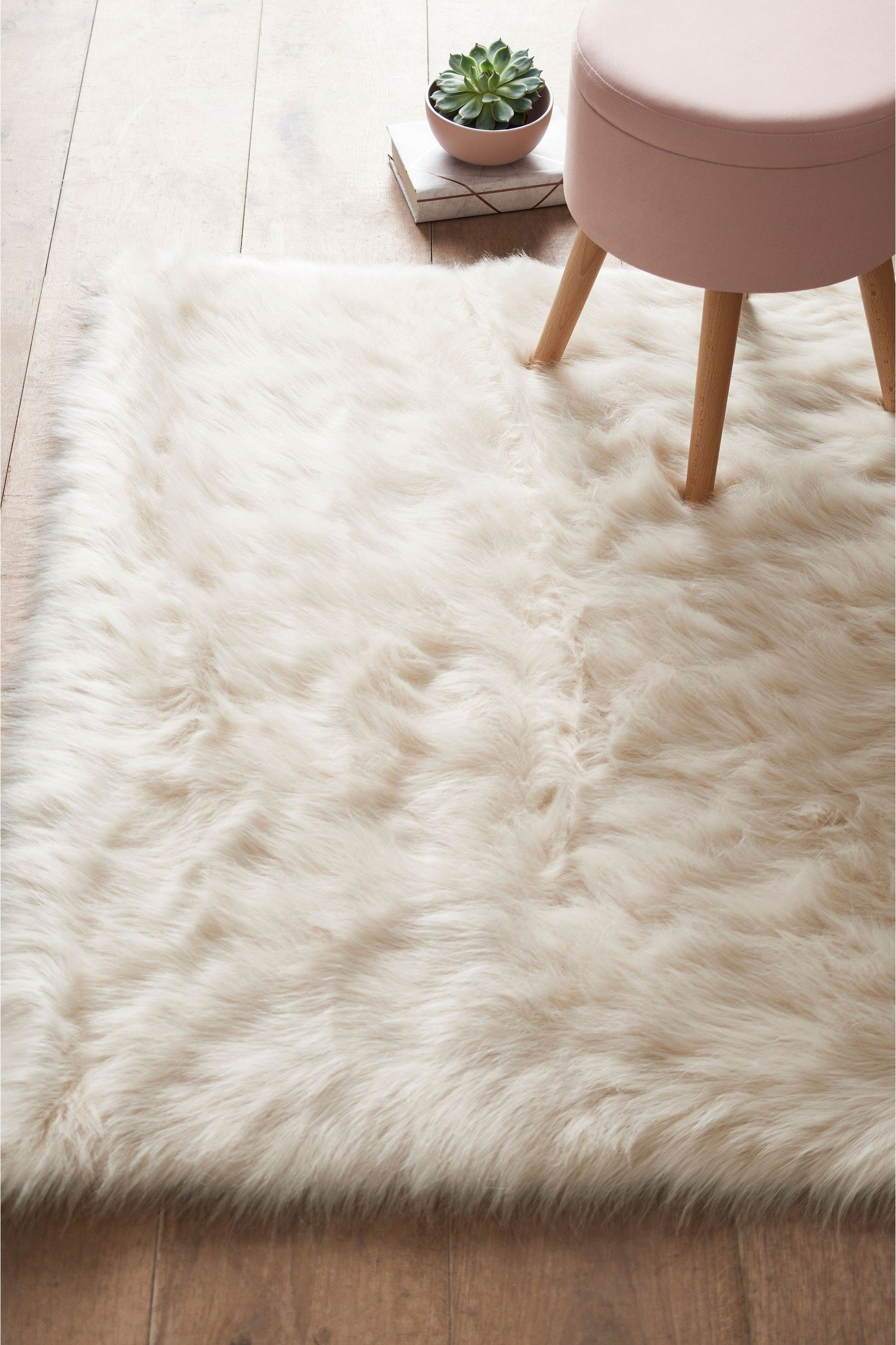 Next Faux Sheepskin Rug Cream Bedroom Rug Fur Rug Fur Rug Bedroom
