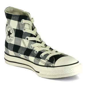 Checkered converse