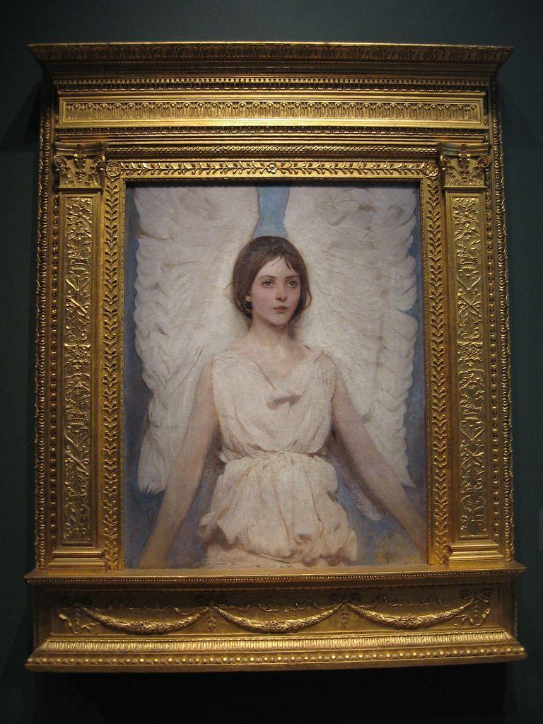 Angel abbott handerson thayer national portrait gallery