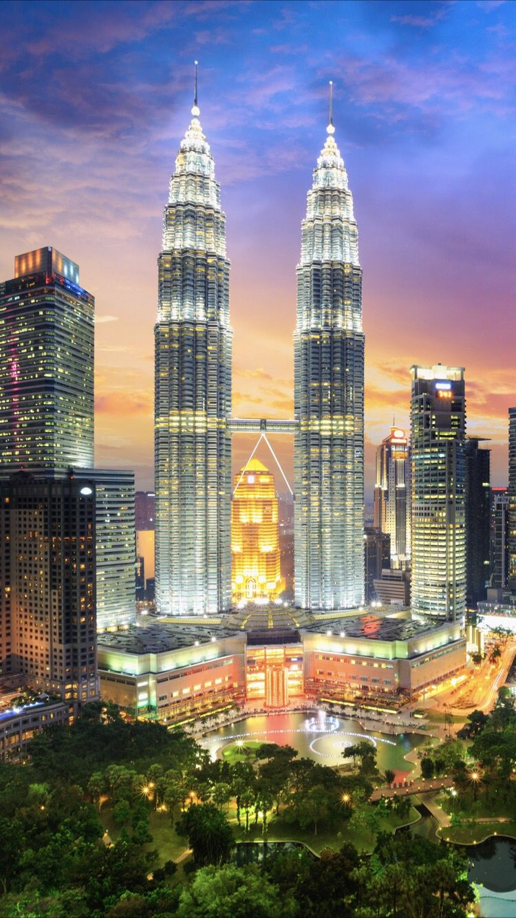 Kuala Lumpur Wallpaper For Your Iphone 7 From Everpix In