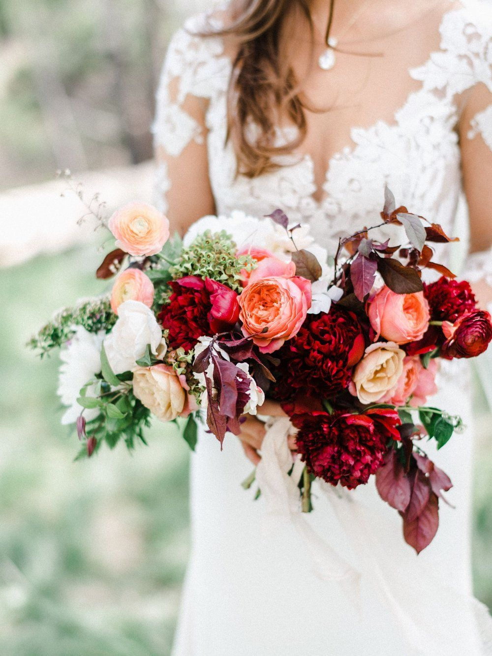 Deep Color Summer Wedding Flowers Telluride Wedding Flowers Colorado Florist Wedding Flowers Cheap Wedding Flowers Winter Wedding Flowers