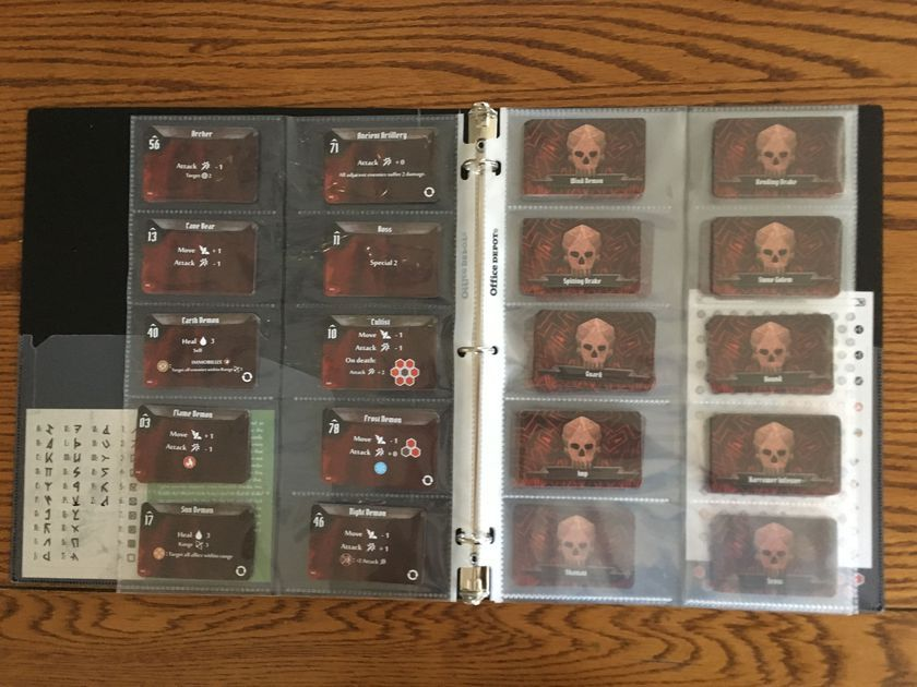 Extremely Helpful For Monster Deck Sorting Business Card Binder