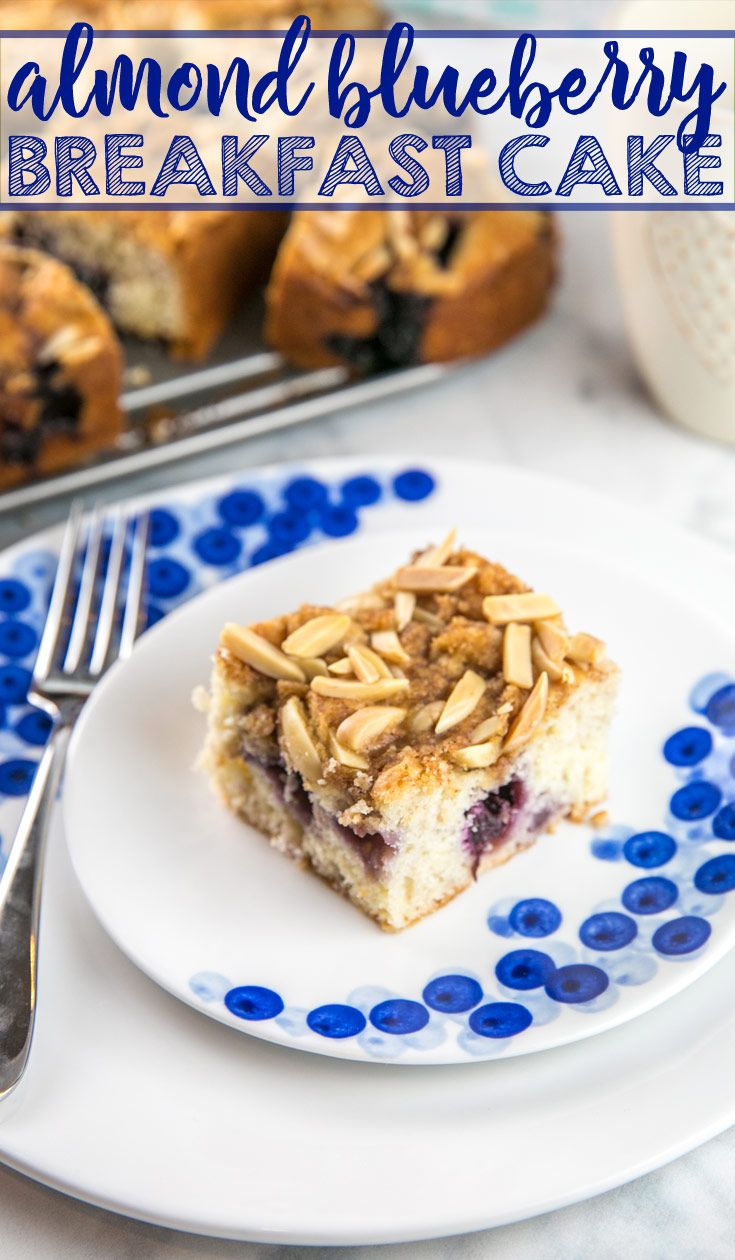 Almond Blueberry Breakfast Cake | Bunsen Burner Bakery