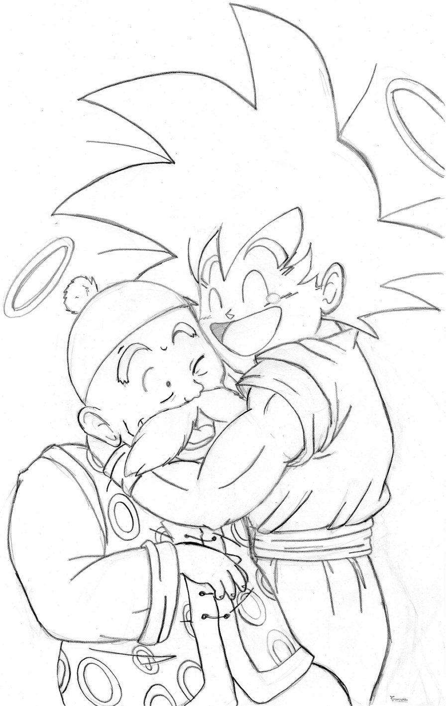 Goku y el Abuelo Gohan by TamarayGisela.deviantart.com on ...