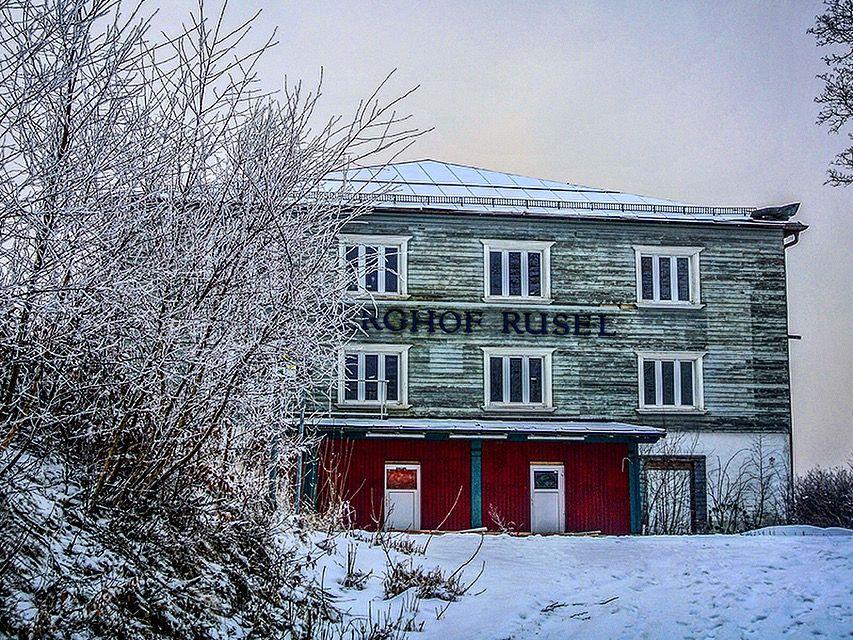 Lost Place Winter. Landkreis Deggendorf. Verlassene orte