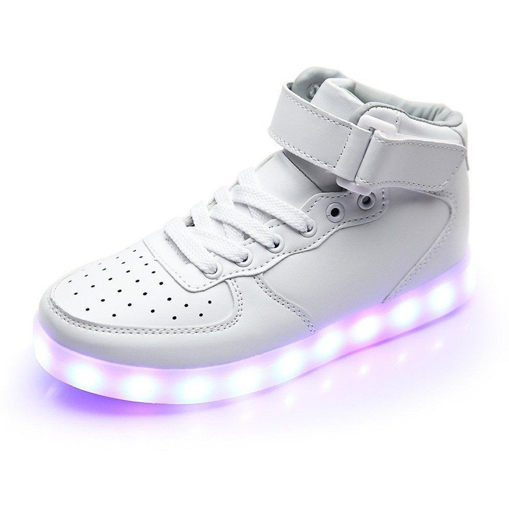 2b407bf5e5de Unisex Men s   Women s USB Charging High Top Luminous LED Light Shoes  shoe   shoes  mens  womens  style  fashion  ledshoes  ledfootwear  nike  puma   reebok ...